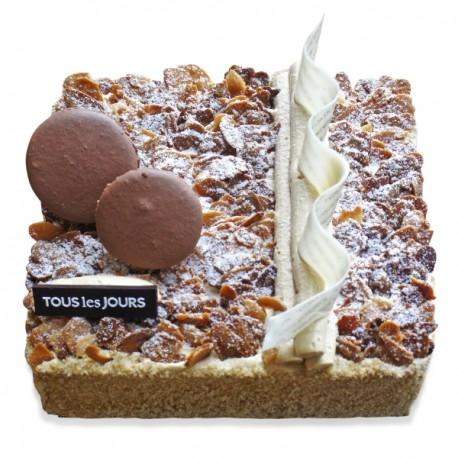 Cafe Mocha Square Cake #3