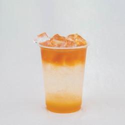 Mango sparkling tea