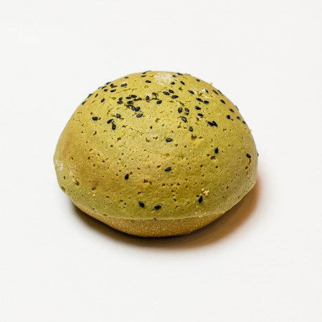 Green Tea & Redbean Cream Bread